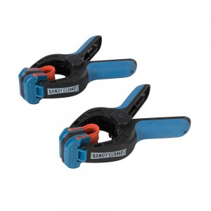 Rockler Small Bandy Clamps with Ultra-Grip Clamp Pads (Pack of 2)