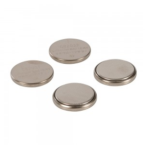 PowerMaster Lithium Button Cell Batteries CR2032 (Pack of 4)