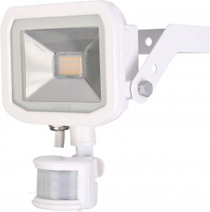 Luceco Guardian Slimline LED 15W Security Floodlight Neutral White With PIR 1200 Lumens