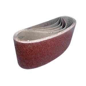 Toolpak Cloth Sanding Belts 75mm x 457mm Pack Of 5 (Various Grits)