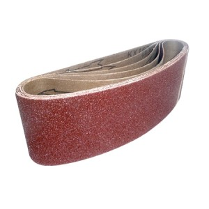 Toolpak Cloth Sanding Belts 75mm x 533mm Pack Of 5 (Various Grits)
