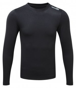 Fort Thermal Long Sleeve Baselayer Top Black (Sizes S-XXL)