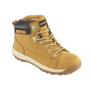 Worktough 810 Safety Hiker Work Boots Tan Honey (Sizes 6-12)