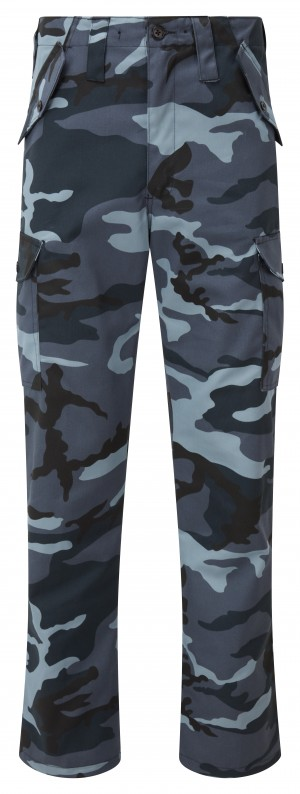 Fort Combat Trade Work Trousers Night Urban Camouflage (Various Sizes)