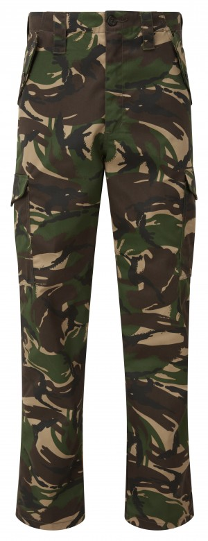 Fort Combat Trade Work Trousers Woodland Camouflage (Various Sizes)