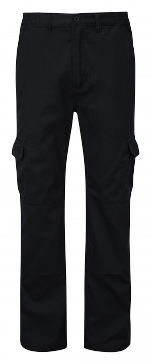 Fort Workforce Cargo Work Trousers Black (Various Sizes)