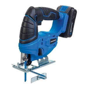 Silverline Cordless 18v Pendulum Action Jigsaw with Battery