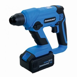 Silverline Cordless 18v SDS Plus Hammer Drill with Battery