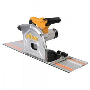Triton TTS1400 1400W Plunge Track Saw with Fast Blade Change & Soft Grip Handles