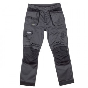 Apache ATS 3D Stretch Trade Work Trousers Grey (Various Sizes)