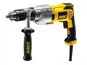 DeWalt D21570K 1300w Dry Diamond Drill 2 Speed 127mm 240v