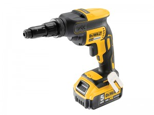 DeWalt DCF622P2 XR Cordless 18v Brushless Self-Drilling Screwdriver & 2 x Li-Ion 5.0Ah Batts