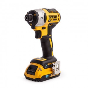 DeWalt DCF888D2B XR Cordless 18v Brushless Tool Connect Impact Driver & 2 x Li-Ion 2.0Ah Batts