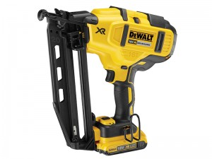DeWalt DCN660D2 XR Cordless 18v Brushless Second Fix Nailer & 2 x Li-Ion 2.0Ah Batts
