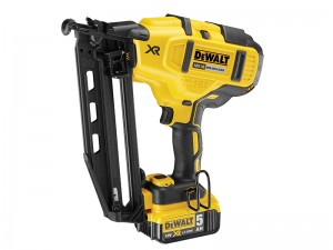 DeWalt DCN660P2 XR Cordless 18v Brushless Second Fix Nailer & 2 x Li-Ion 5.0Ah Batts