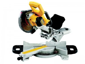 DeWalt DCS365M2 Cordless 18v XPS Mitre Saw & 2 x Li-ion 4.0Ah Batts