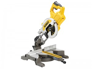 DeWalt DCS777T2 FlexVolt XR Cordless 18/54v Mitre Saw 216mm & 2 x Li-Ion 6.0/2.0Ah Batts