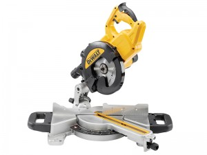 DeWalt DWS774 XPS 1400w Slide Mitre Saw 216mm 240v