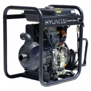 Hyundai DHYC50LE Electric Start Diesel Chemical Water Pump 50mm