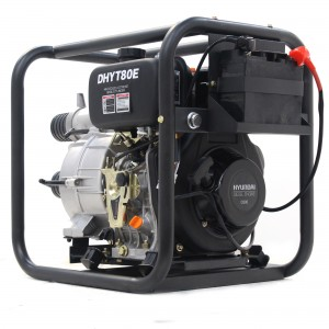 Hyundai DHYT80E Electric Start Diesel Dirty Water Pump 80mm