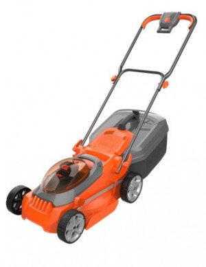 Flymo Easi Store Cordless 40v Rotary Lawn Mower 34cm/13in with 2x Batts
