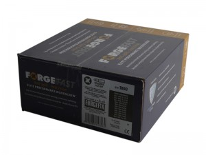 ForgeFast Elite Performance Pozi Wood Screw Assorted Set 1800-Piece in Forge Pack
