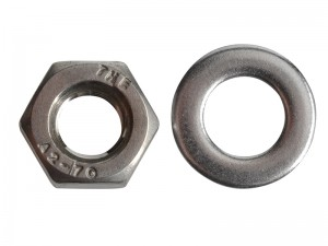 ForgeFix Hexagon Nut & Washer Stainless Steel Pack Qty's (Sizes M6-12)