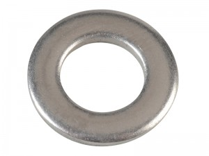 ForgeFix Flat DIN125 Stainless Steel Washer Pack Qty's (Sizes M6-12)