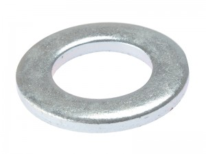 ForgeFix DIN125 Form A Washer Zinc Plated Bag of 100/10 (Sizes M3-16)