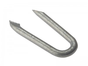 ForgeFix Net Fencing Staple Nail Galvanised Steel Pack Qty's (Sizes 15-40mm)