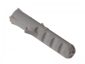 ForgeFix Expansion Wall Plug Nylon Rimless Anti-Spin Grey Pack Qty's (Various Sizes)