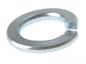 ForgeFix Spring Lock Washer Zinc Plated Bag of 100 (Sizes M5-12)