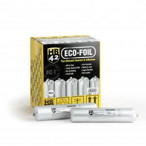 HB42 Eco-Foil Ultimate Universal Sealant & Adhesive 400ml (Various Colours)