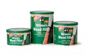 HB42 Ultimate Wood Filler White (Various Sizes)