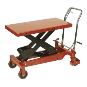 Sealey Hydraulic Platform Truck Scissor Lift Trolley (Various Sizes)