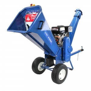 Hyundai HYCH1500E-2 Electric Start Petrol Garden Chipper Shredder 100mm