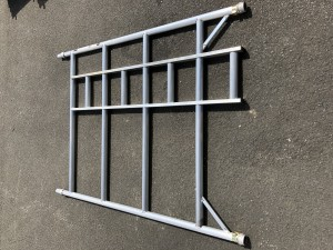 UTS 4-Rung Double Width Ladder Frame to suit Alloy Industrial Access Scaffold Towers