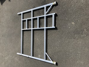 UTS 3-Rung Double Width Ladder Frame to suit Alloy Industrial Access Scaffold Towers