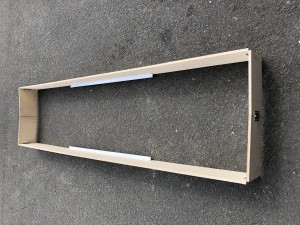 UTS Toe Board Set S/W x 2.5m to suit Alloy Industrial Access Scaffold Towers
