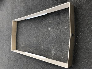 UTS Toe Board Set D/W x 2.5m to suit Alloy Industrial Access Scaffold Towers