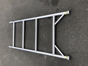 UTS 4-Rung Single Width Span Frame to suit Alloy Industrial Access Scaffold Towers