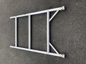 UTS 3-Rung Single Width Span Frame to suit Alloy Industrial Access Scaffold Towers