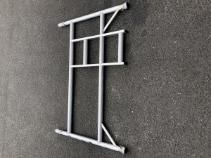 UTS 2-Rung Double Width Ladder Frame to suit Alloy Industrial Access Scaffold Towers