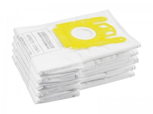 Karcher VC Vacuum Cleaner Replaceable Fleece Bags Pack Of 5