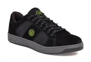 Apache KICK Safety Work Trainer Shoes Black (Sizes 6-12)
