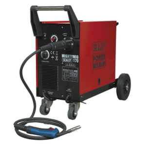 Sealey Professional Gas/Gasless Mig Welder 170amp With Euro Torch