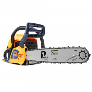 P1PE Hyundai P6220C Petrol 2-Stroke 62cc Chainsaw 50cm/20in with 2 x Chains & Carry Bag