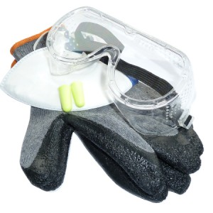 Toolpak General Purpose PPE Safety Kit Pack 4-Piece (L-XL)