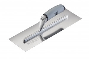 Ragni Feather Edge Hi-Lift Plastering Finishing Trowel Stainless Steel - 14in x 4 3/4in