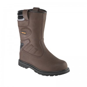 Worktough Safety Rigger Work Boots Brown (Sizes 6-13)